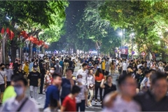 Leading nightlife pedestrian streets nationwide