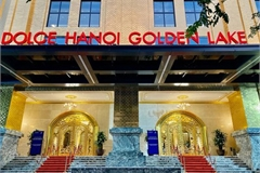 What makes Hanoi's first gold-plated hotel special?