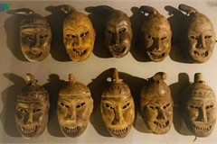 Masks in religious rites of the Dao