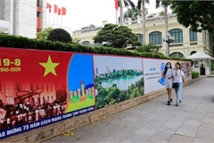 Hanoi well decorated for National Day celebrations