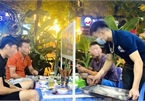 COVID-19: Hanoi beer drinkers raise toast in special way