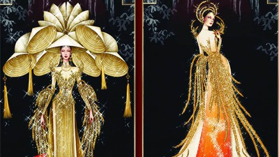 Leading costume designs for Khanh Van at Miss Universe announced