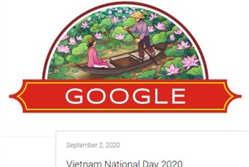 Google Doodle celebrates Vietnam National Day with typical images