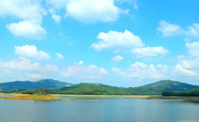 Discovering tranquility of Viet An lake in Quang Nam