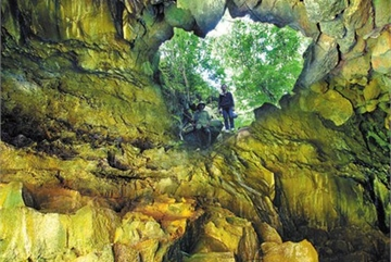 Krong No volcanic caves seek recognition as global geological park