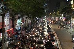 Hanoi's streets hit by severe traffic congestion as Tet draws near