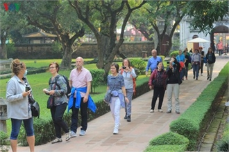 Tourists feel safe when visiting Temple of Literature