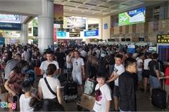 Airport runway repairs cause congestion nightmare