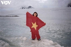 First Vietnamese to visit Antarctica and her effort to fight climate change