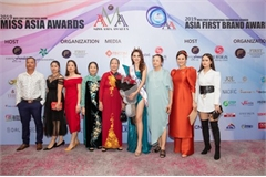 Ha Vi Vi wins second runner-up spot at Miss Asia Award 2019