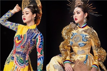 Tuong San claims national costume win at Miss International 2019