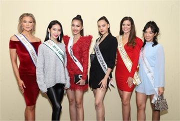 Ngoc Chau shines during Miss Supranational's sashing ceremony