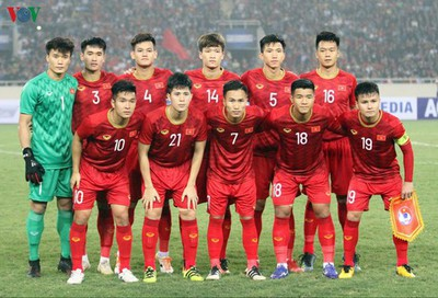Squad numbers revealed for Vietnam's U22 team ahead of SEA Games 30