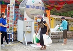 COVID-19: Minority people get gifts from 'rice ATMs'