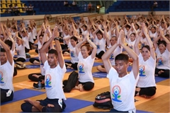 Indian Embassy strongly supports Yoga events in Vietnam