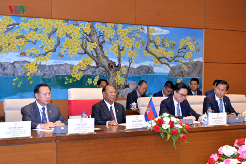 vietnam, cambodia expect stronger all-around ties hinh 1