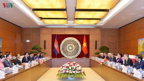 vietnam, cambodia expect stronger all-around ties hinh 0