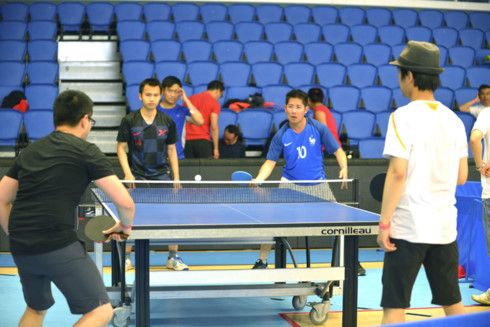 sports tournament excites vietnamese expatriates in france hinh 1