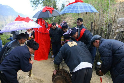 music in wedding ritual of red dao in lao cai province hinh 1
