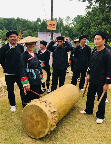 new year celebrations of giay ethnic people in ha giang province hinh 1