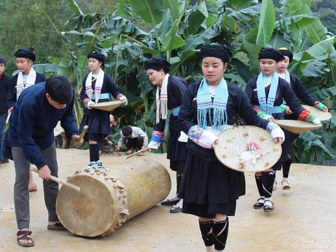 new year celebrations of giay ethnic people in ha giang province hinh 2