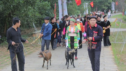 ethnic groups celebrate new year with various activities hinh 0