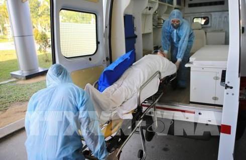 coronavirus prevention drill held at hue central hospital hinh 0