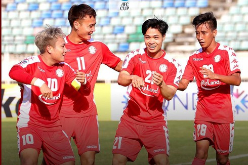 hcm city fc play out thrilling draw with yangon united in afc cup 2020 hinh 0