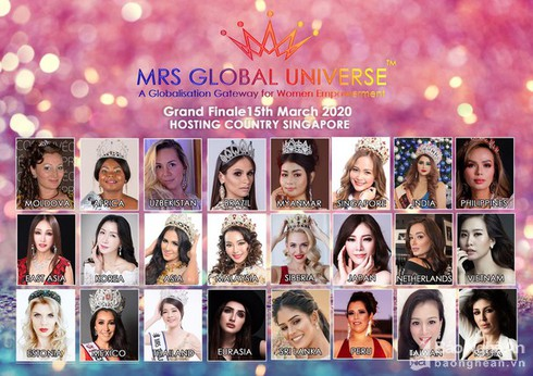 ha phuong selected as vietnamese contestant for mrs global universe 2020 hinh 1