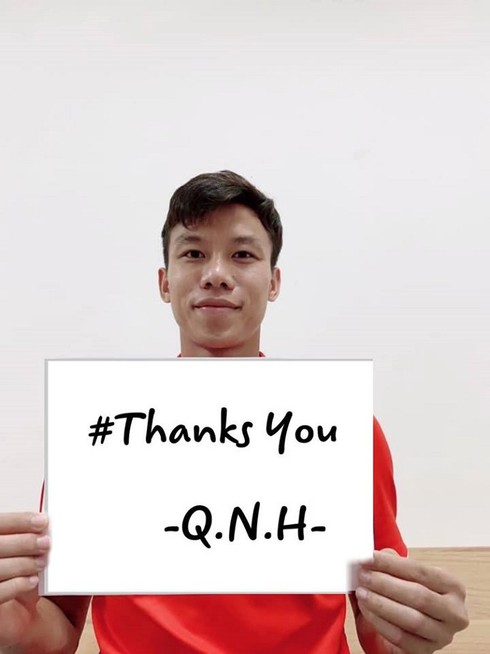 covid-19: footballers offer heartfelt messages for #thankyou campaign hinh 3