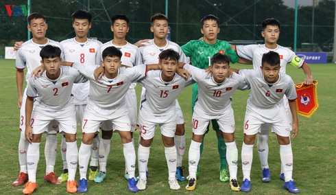 qatar invites vietnam's u16 side for friendly match in october hinh 0