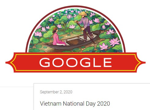 google doodle celebrates vietnam national day with typical images hinh 0
