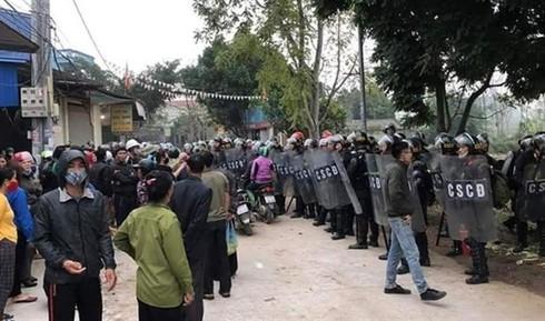 account receiving foreign money in hanoi disturbance case frozen hinh 0