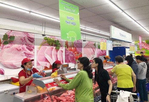domestic pork prices fall as pigs imported in large volume hinh 0