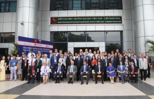 first vietnam – russia rectors' forum underway in hanoi hinh 0