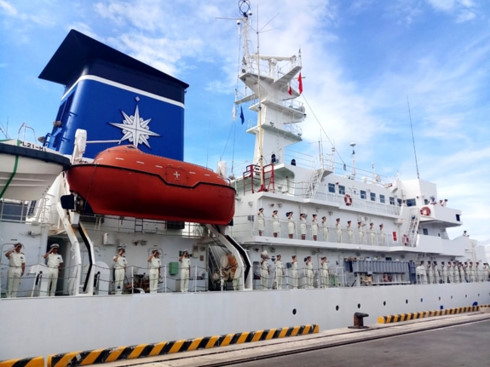 japan coast guard ship visits danang hinh 0