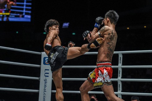 vietnamese fighter enjoys ko win at one championship hinh 0