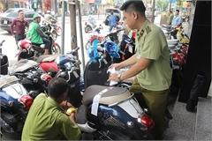 Phát hiện 18 chiếc xe gắn máy có dung tích không đúng với tiêu chuẩn công bố