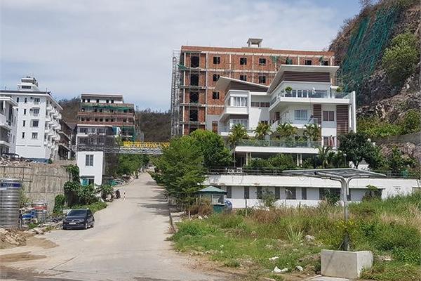 Chính thức buộc tháo dỡ hàng loạt biệt thự tại dự án Ocean View Nha Trang