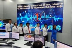 Ninh Thuận khai trương Trung tâm Giám sát an toàn, an ninh, thông tin