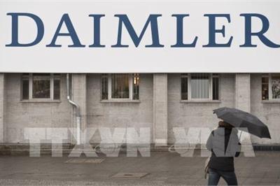Daimler hạ triển vọng lợi nhuận do vụ bê bối khí thải ô tô