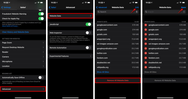 Cách xóa bộ nhớ cache trên iPhone ảnh 3