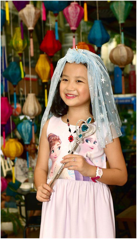 Hóa trang công chúa trong ngày Halloween