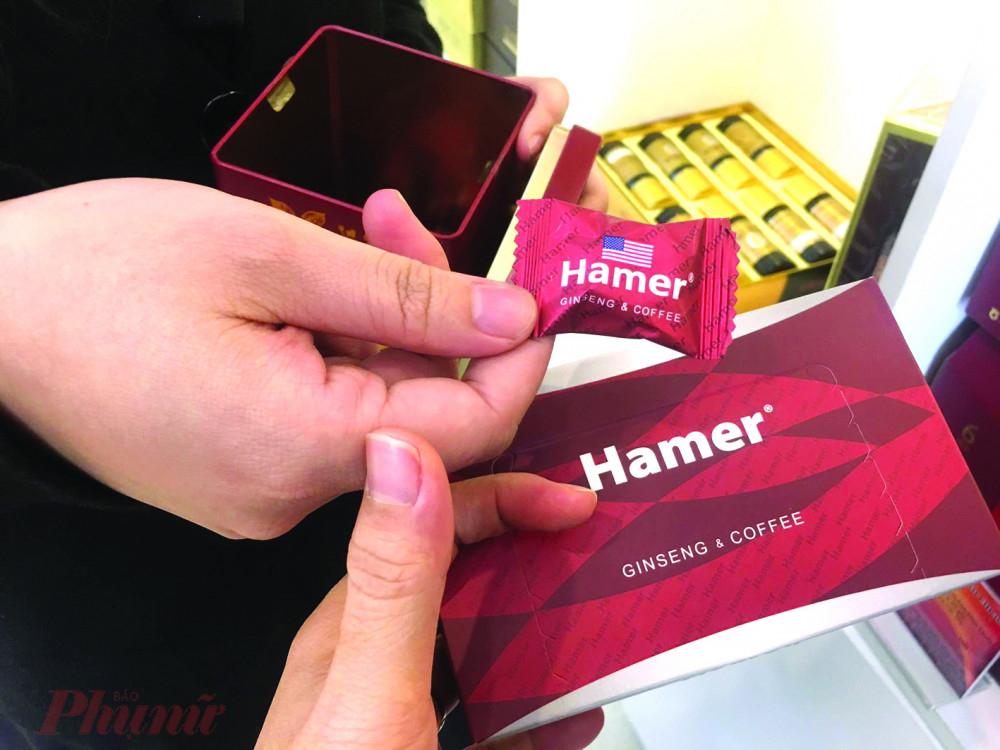Kẹo Hamer được cảnh báo chứa chất cấm nhưng vẫn được bày bán tại các cửa hàng ở TP.HCM