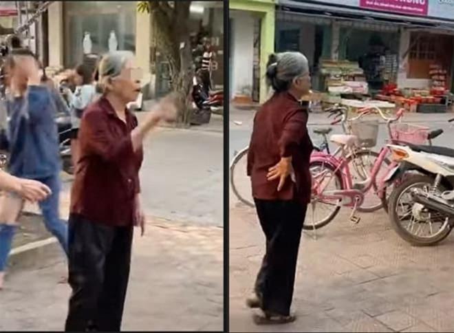 Bà cụ U80 từ Hải Phòng lên Hà Nội dằn mặt tiểu tam U60. Nguồn ảnh: Internet