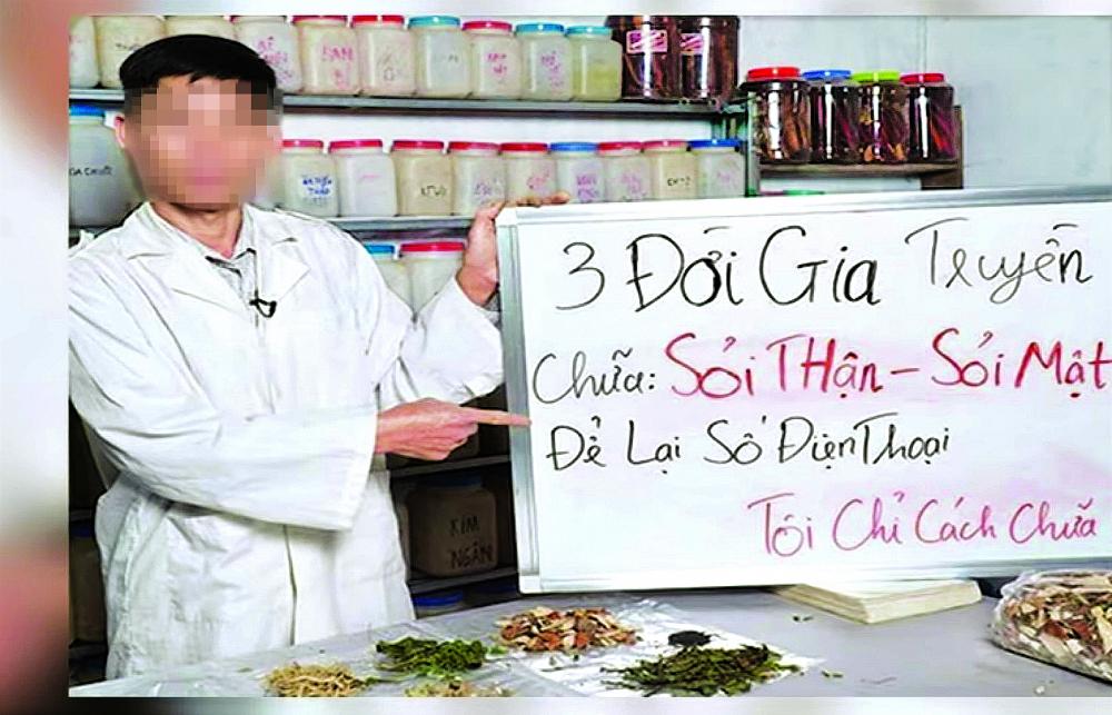 Đủ kiểu quảng cáo bán thuốc chữa bệnh trên mạng