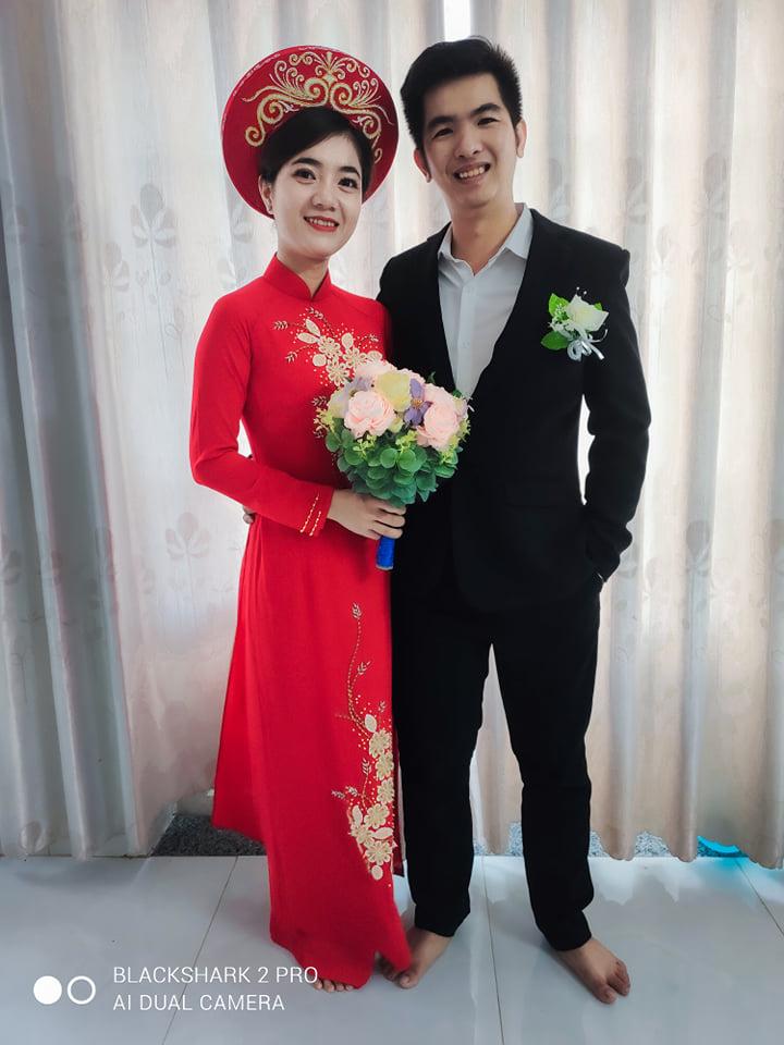 Ảnh cưới đi chân đất vì không nhớ mang giày (Ảnh nhân vật cung cấp)