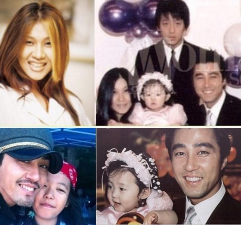 Cha Seung Won hiếm khi chụp ảnh cùng vợ con.