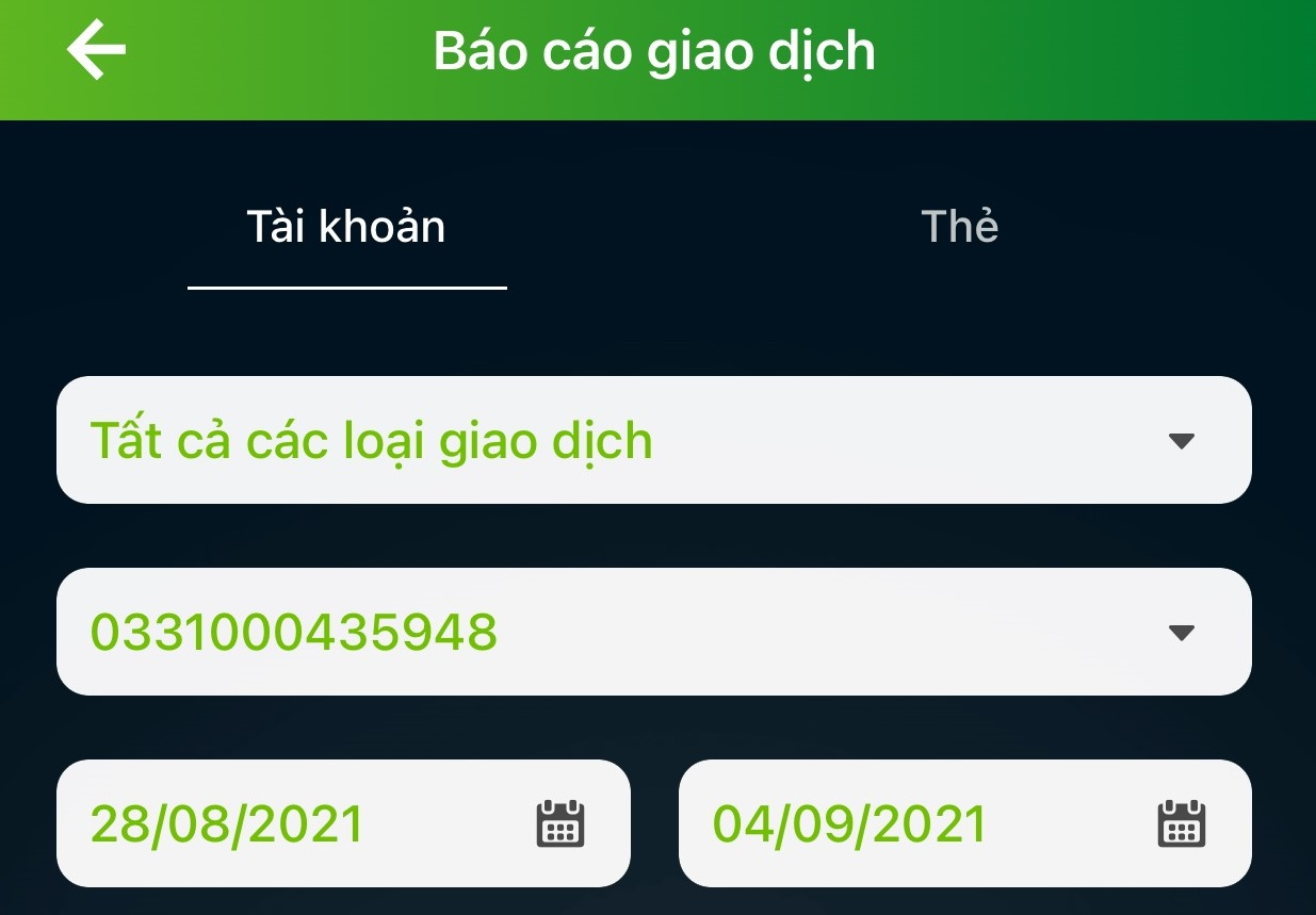 Khách có thể sao kê trực tuyến từ website hoặc ứng dụng ngân hàng (Ảnh minh hoạ)
