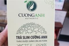 Cảnh báo không sử dụng lô trà giảm cân Slim Cường Anh